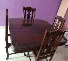 4 site dining table