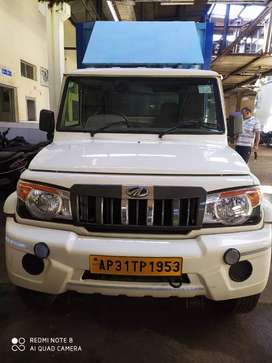 Mahindra Bolero pick up with puf insulated aluminium body