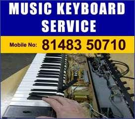 yamaha casio rolland piano keyboard service in chennai