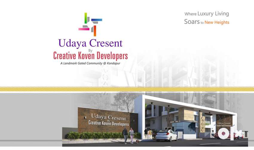Flats in Kondapur 3BHK all east and west Facing 0