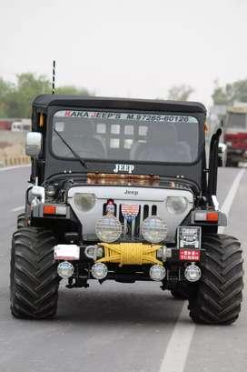 Modified jeep new