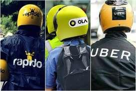 Hiring Bike Taxi Executives For OLA and Uber