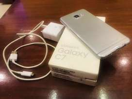 Samsung C7 in new condition