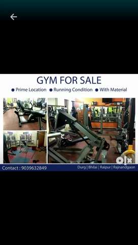 Complete running condition gym saleout
