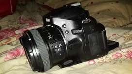 Nikon D5100 lensa fix 35mm