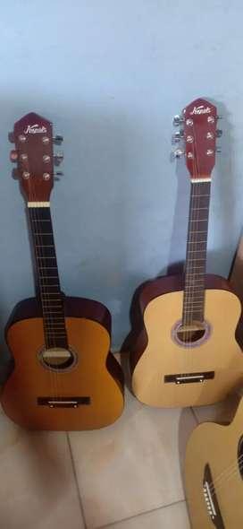Gitar kapok tanam besi aktif baru bukan seken