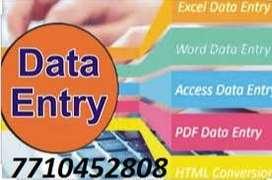 *Genuine online part time job data typing