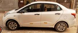 Hyunday Xcent with ABS & company Fitted CNG (Single Handed Car)