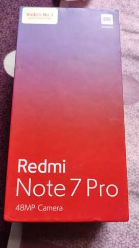 My Mi note 7 pro 4gb 64gb in black