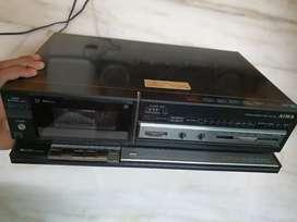 Aiwa Cassette Deck Tape Recorder