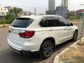 BMW X5 3.5X-LINE BENSIN 2014/2015 WHITE ON SADDLE BROWN ATPM