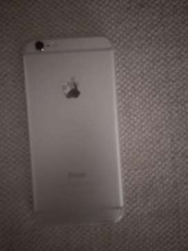 Apple iphone 6    64gb.     Silver colour.      Battery health 92%