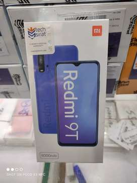 REDMI NOTE 9T 4/28 BOX PACK WARRANTY WALA ALLCOLORS AVAILABLE HERE