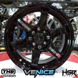 Velg Mobil Racing Ring 15 TLms634 HSR Avanza, Brio, Yaris, Livina