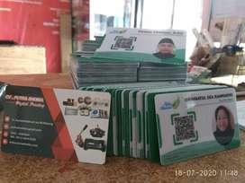 Cetak Kartu Pelajar, Member Card, Id Card Murah di Malang