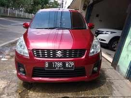 Suzuki Ertiga GL manual 2012 merah istimewah