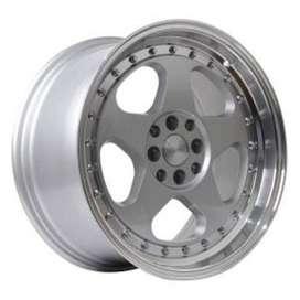 velg jazz-JD805-HSR-R17x75-85-H8x100-1143-ET45-35-Silver-Machine-Li