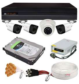 CCTV Camera 4ch Package at Rs. 11500