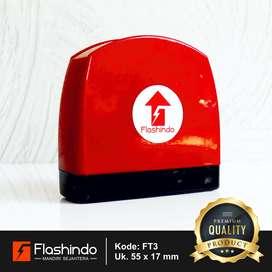 Flashindo Stempel Warna Tapal Kuda Besar Ukuran 55 x 17 mm Stempel Fla