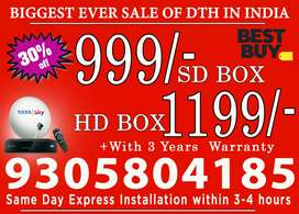 Offer, ,will be Started TATA,SKY Lowest price in India Guarantteed;