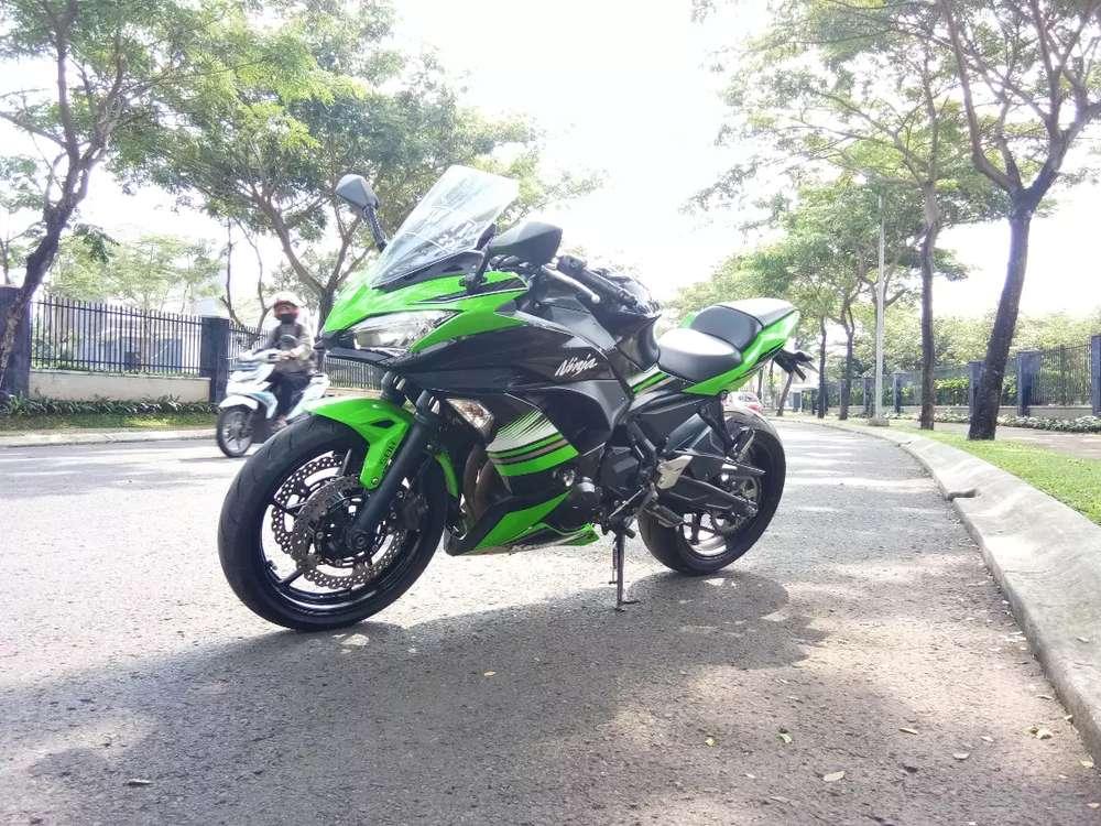 Kawasaki Ninja 650 2018  mulus bisa tt er6 cbr
