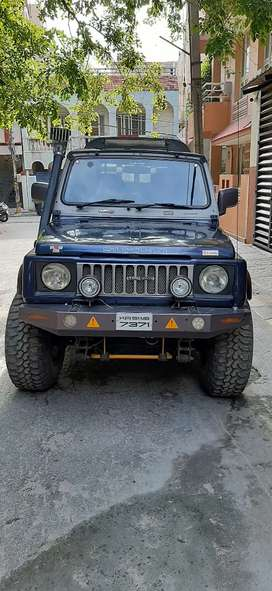 Maruti Suzuki Gypsy 1993 Petrol Well Maintained with exhaust installed