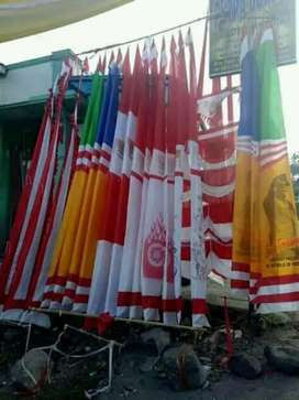 umbul2 dan bendera