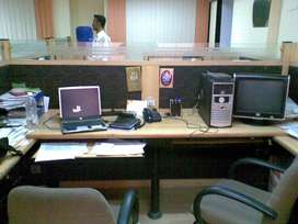 600Sqft Fully Furnished Plug n Play Office on Rent at SB Road Nr Ratna
