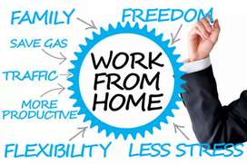 Simply hand writing work home base job salary 13000