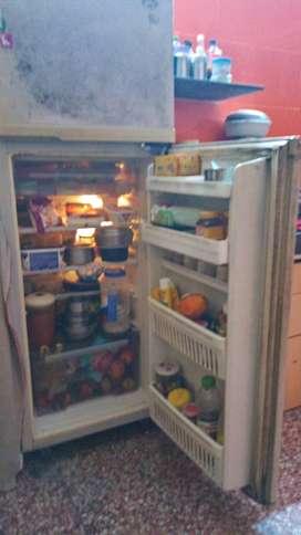 Double door Godrej fridge 165 liter, 20 years