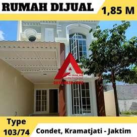 Dijual rumah di Condet Kramatjati Jakarta Timur dekat ke TB Simatupang
