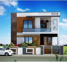 200 sq yd ,5 Bedroom,4 Bathroom , Double Storey House for Sale in Aero