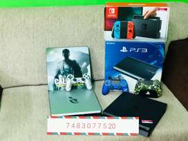ALL TYPES OF PS4 PS3 XBOX CONSOLES