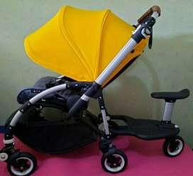 Stroller bugaboo Bee include wheeled board chair 99%