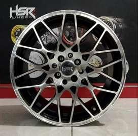 Velg HSR TANGSE R17 racing Vios, Jazz RS, Yaris, Avanza xenia