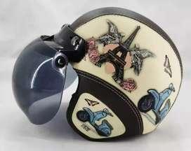 Helm bogo gambar Vespa