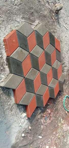 Paving block 3 dimensi  murah berkualitas