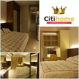 Sewa Apartemen Harian/Minggguan Educity 1br furnished