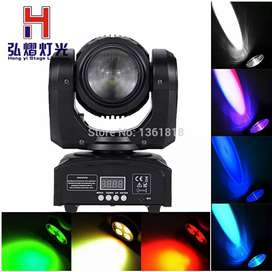 4x10w+1x10W RGBW 4in1 Double Face LED Moving head light for DJ Disco