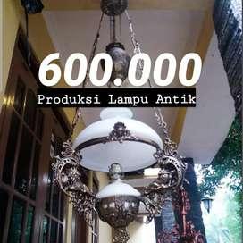 Produksi Lampu Antik Klasik Motif Singa