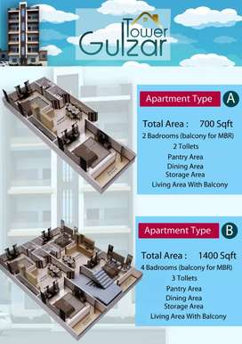 Gulzar tower booking available