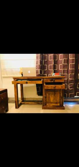 Study Table,Computer Table. Solid Sheesham wood.Brand new FabInd Piece