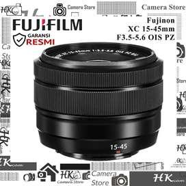 Fuji Fujifilm Fujinon XC 15-45mm F3.5-5.6 OIS PZ - New Resmi FFID