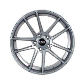 velg hsr wheel cocah ring 18x8,5 h5(114,3) grey di ska ban pekanbaru