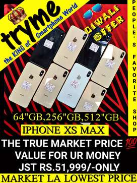 TRYME 512'Gb X=S MAX, IPHONE Fresh Conditions