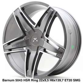 Velg Mobil HSR Murah Ring 22 Fortuner Hardtop Hilux Double
