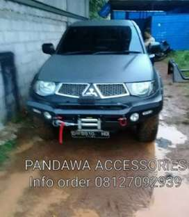 Rocker bar pajero