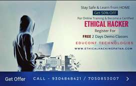Learn online ethical hacker course