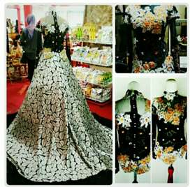 Jual Murah second busana pengantin & display gaun pengantin
