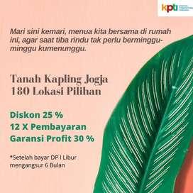 Sisi Barat Jogja, Tanah Murah 900 Rb-an, Pasti Profit 30%